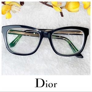ChrIstian DIOR | Eye Glasses Frames Unisex Black
